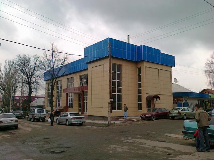18.04.2011 Новый комплекс. Центральный рынок города.