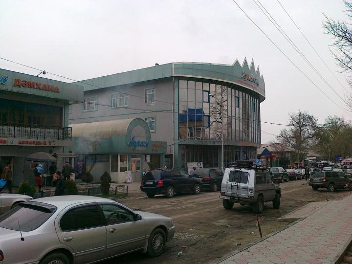 17.04.2011 Ауган. Центральный рынок города.