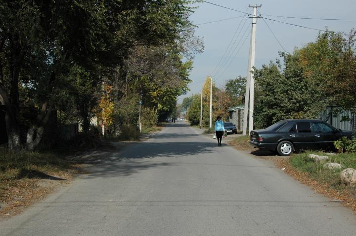 Улица Амангельды