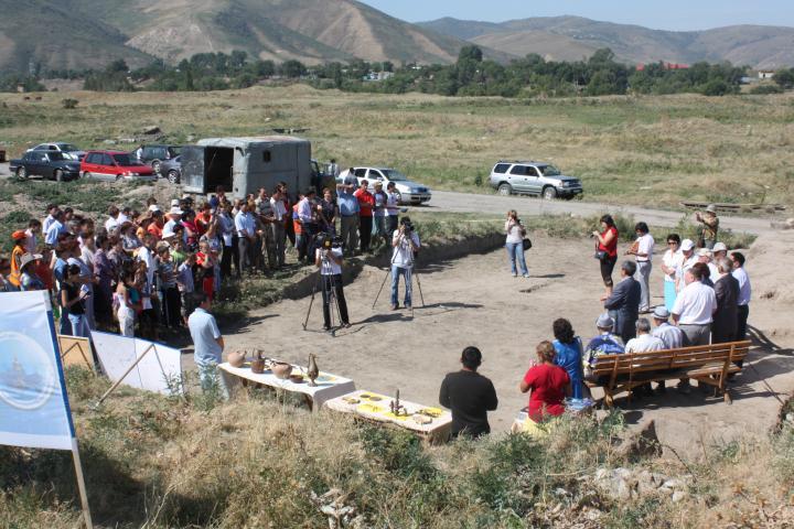 Раскопки Талгарского городища