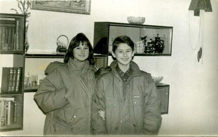 Ридель Оля и Валера
