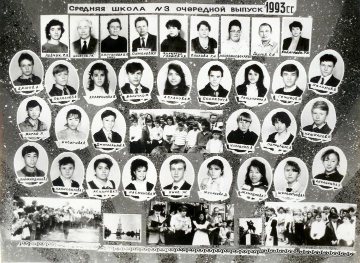 Выпускники школы 1984-1990 гг