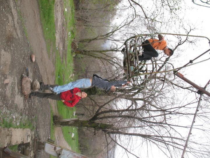 2009 Колесо обозрения в парке Талгара