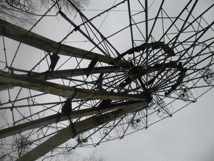 2009 Колесо обозрения в парке Талгара 2